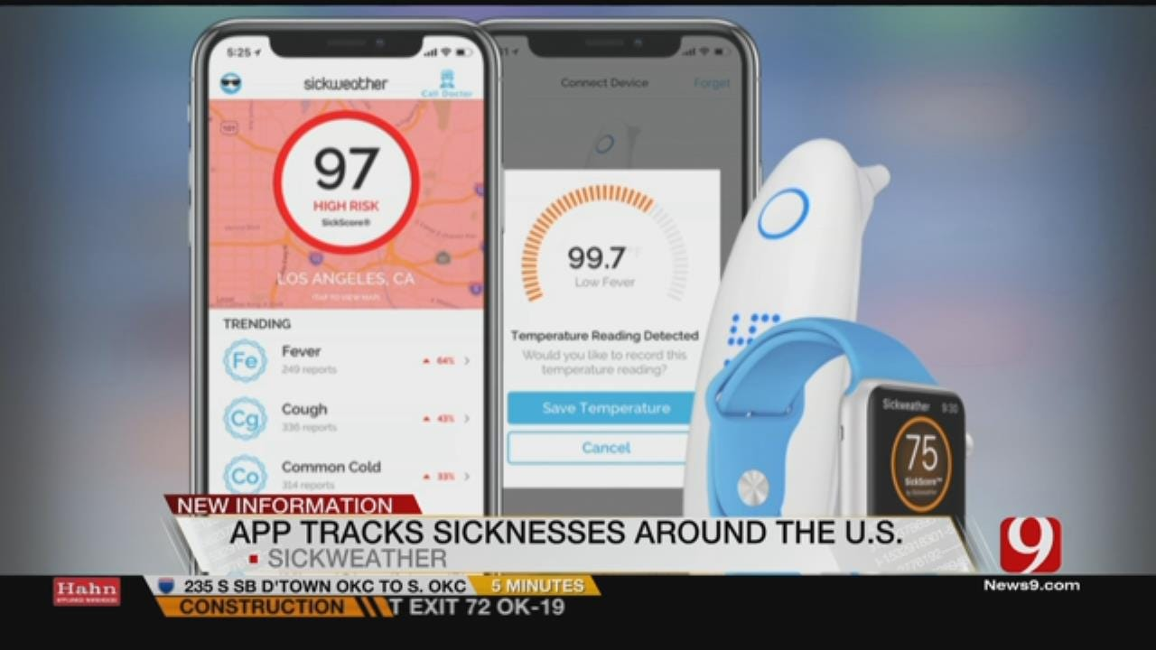 App Maps Out Reported Sicknesses For Users