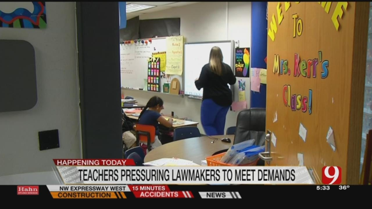 State Teachers Prepare For Possible Walkout