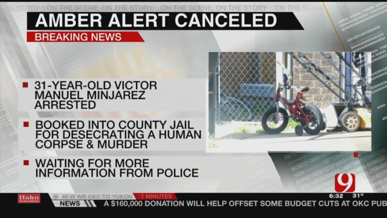 Man Involved In Amber Alert Accused Of Murder