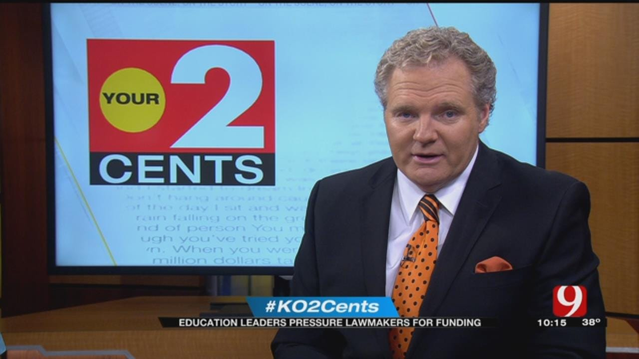 Your 2 Cents: Education Leaders Pressure Lawmaker For Funding