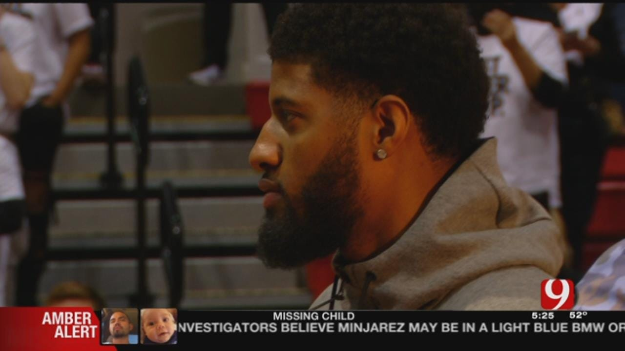 PG Surprises HS Basketball Team, Coach Ahead Of Playoff Game