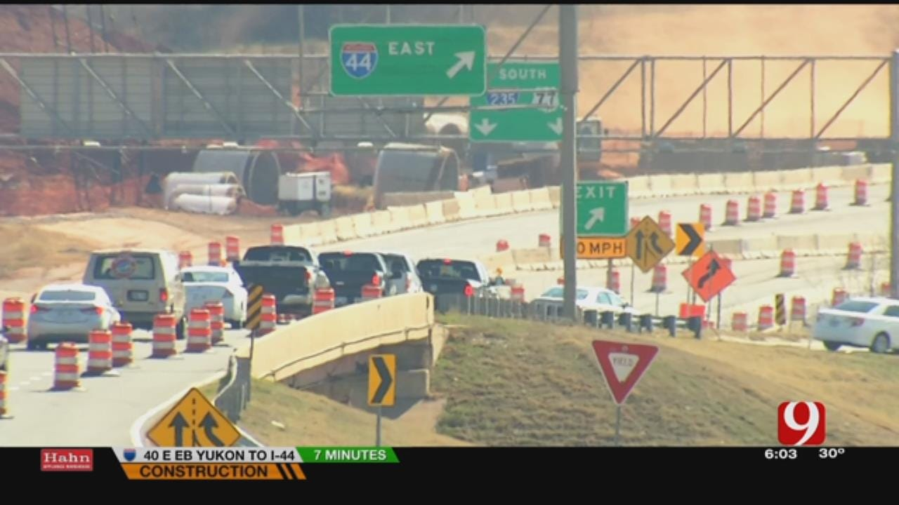 I-235 Closure Delayed For Railroad Work