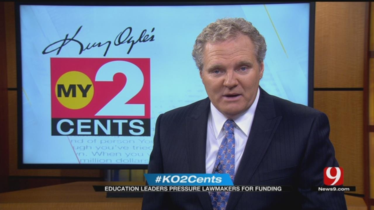 My 2 Cents: Education Leaders Pressure Lawmaker For Funding