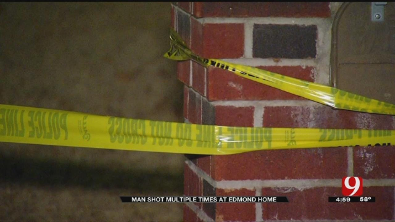 Victim Fighting For His Life After Shooting In Edmond Home