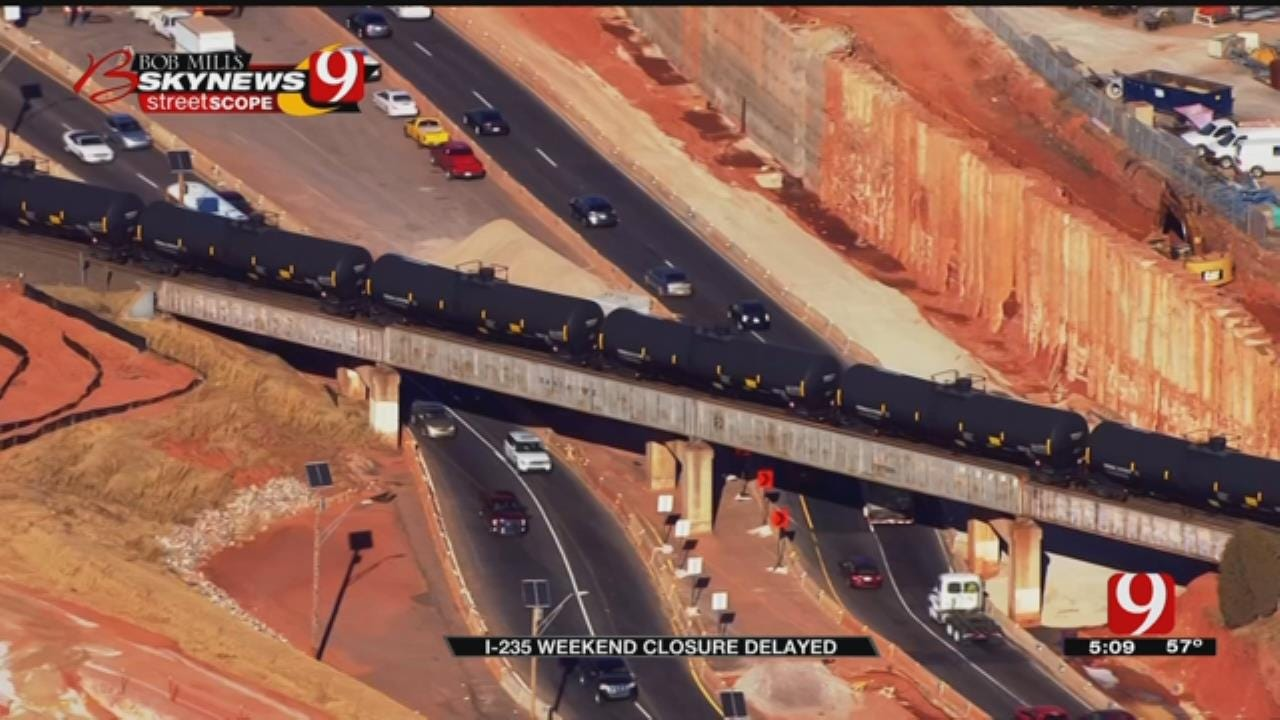 I-235 Weekend Closure Delayed, But Lanes Will Narrow