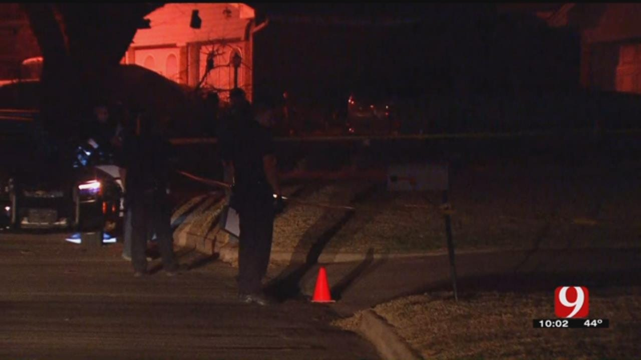Police Investigating Shooting In MWC