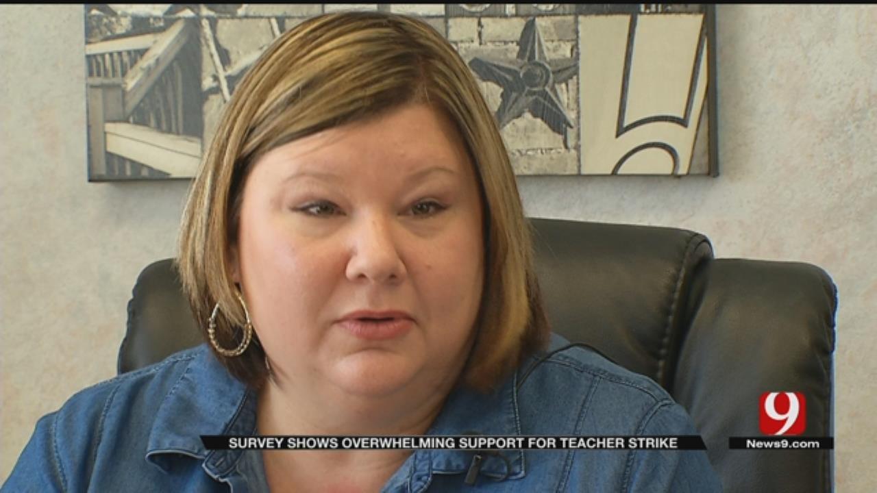 OEA President Stands Behind Teacher Plan To Strike