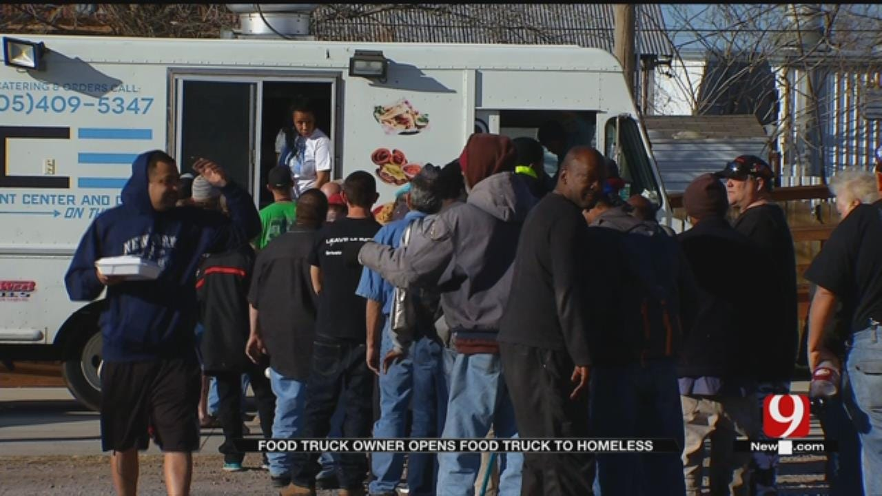 Metro Food Truck Owner Providing Free Meals To Homeless