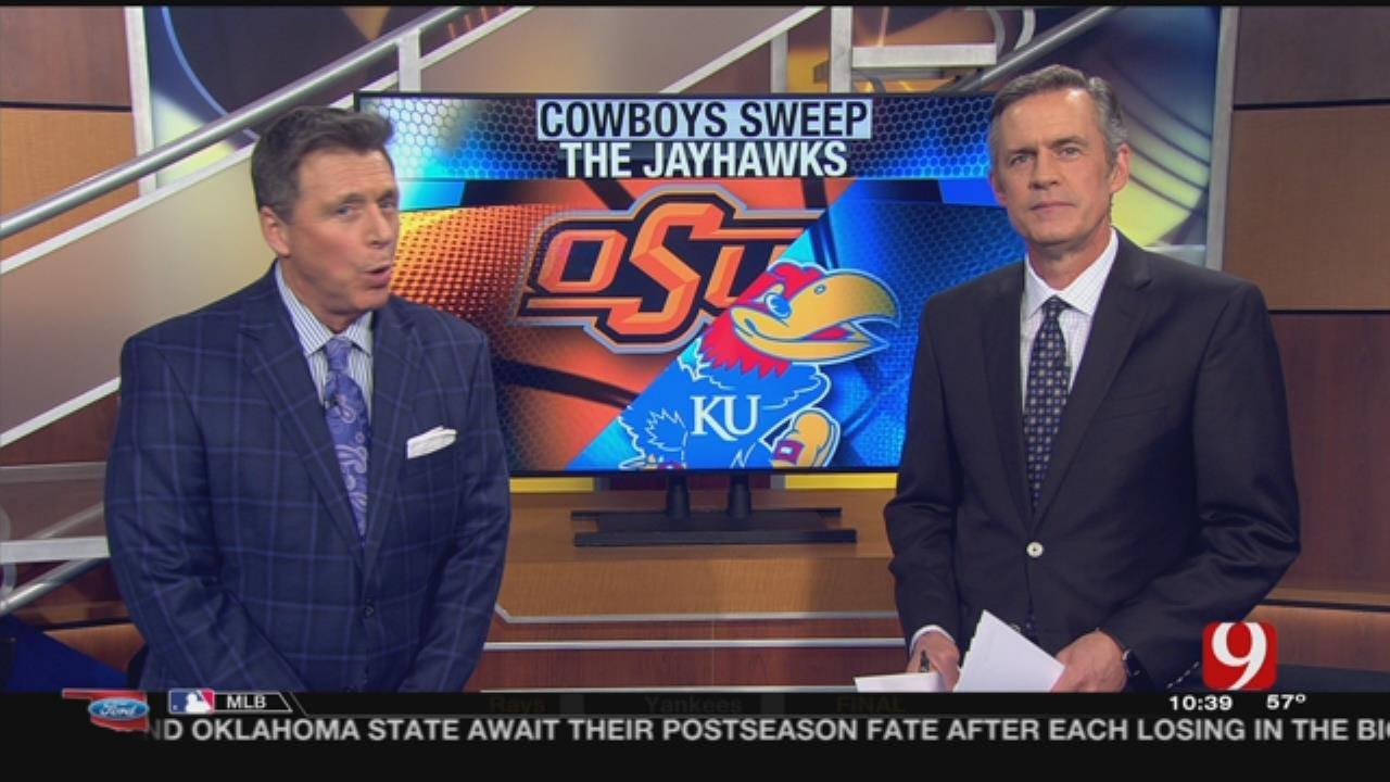 Cowboys Rock Jayhawks, Can They Sneak Into Big Dance?
