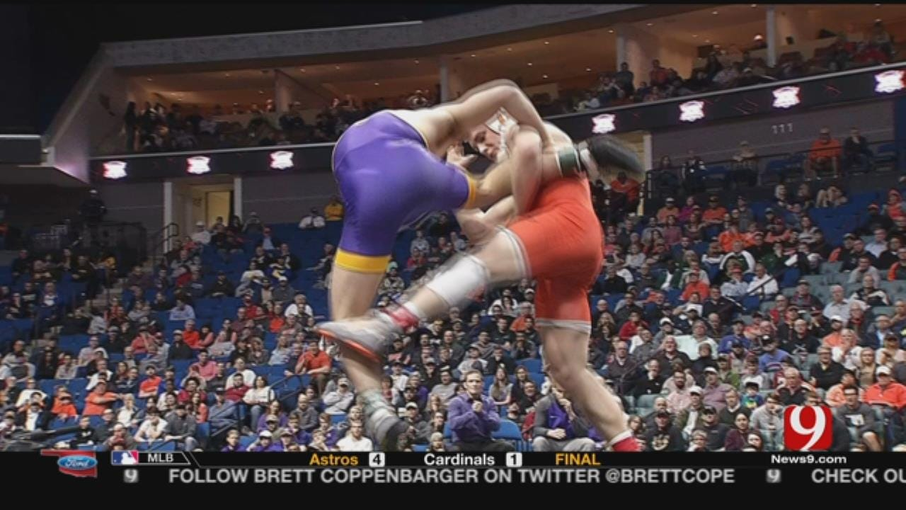 Oklahoma State Wins 52nd Conference Wrestling Title