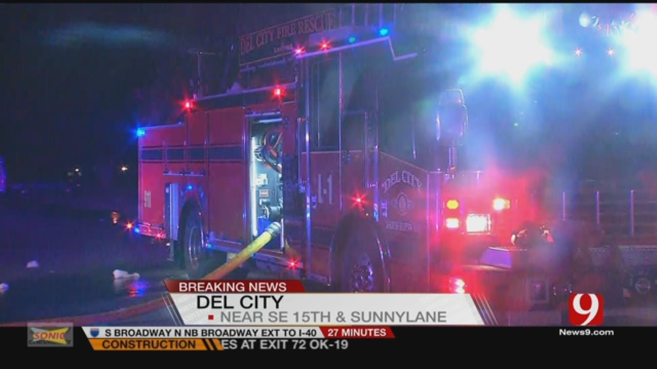 Smoke Alarm Saves Woman, Pets From Del City House Fire