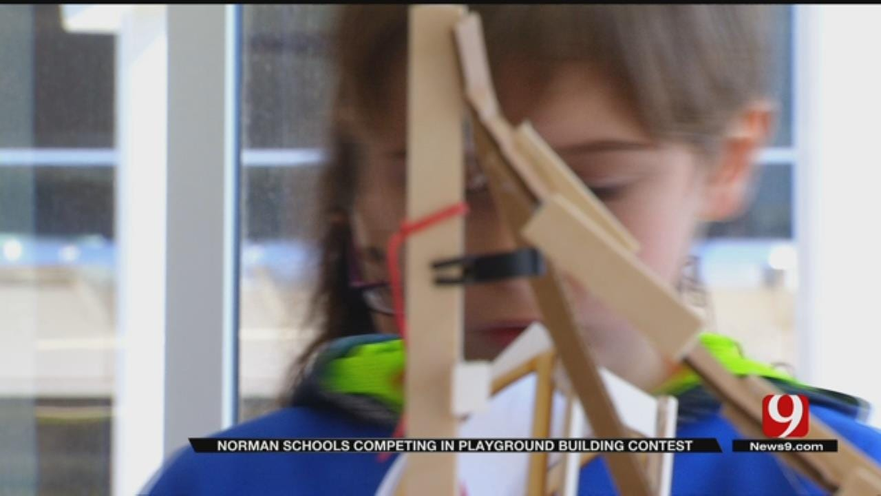 Norman Kids Compete To Design Best Playground