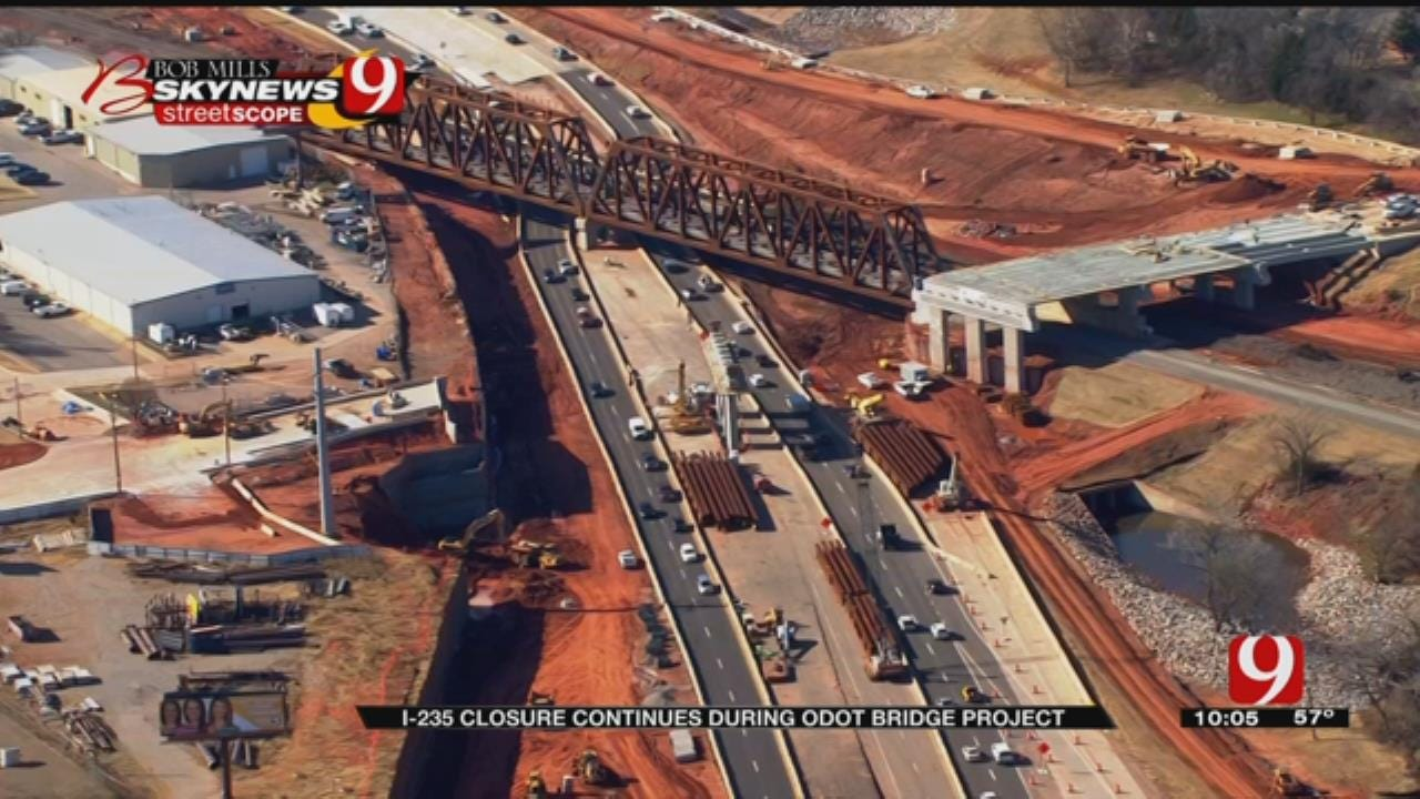 I-235 Closures Almost Over