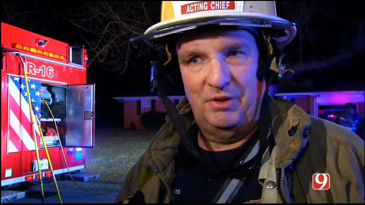 WEB EXTRA: 1 Resident, 4 Pets Treated After SW OKC House Fire