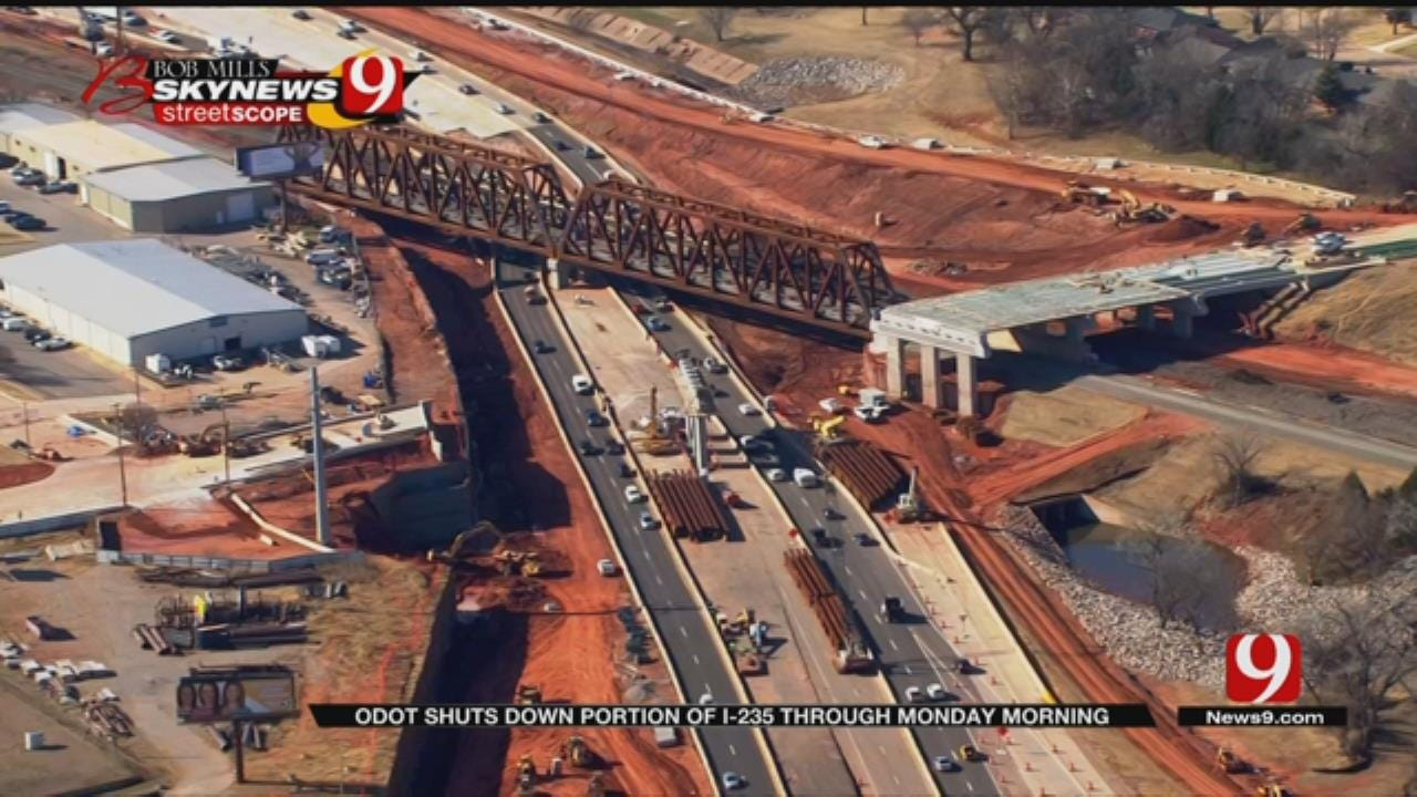 ODOT: Closure 3 of 4 For I-235 Construction