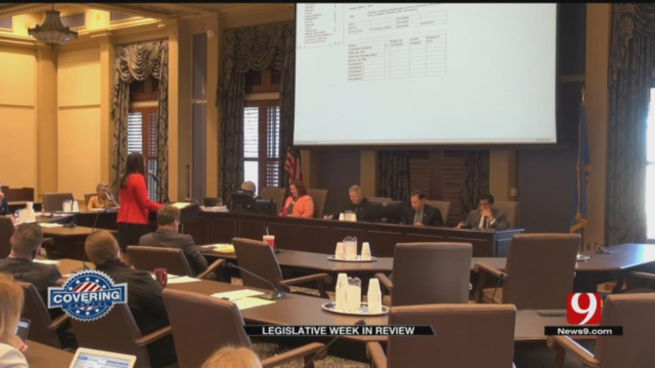 Capitol Week In Review: Controversial Bills Voted On