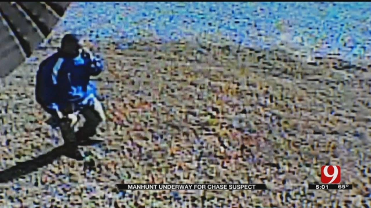 Manhunt Winding Down For Chase Suspect Near Luther