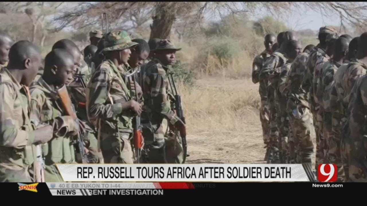 Only On 9: Rep. Russell Tours Africa After Soldiers' Deaths