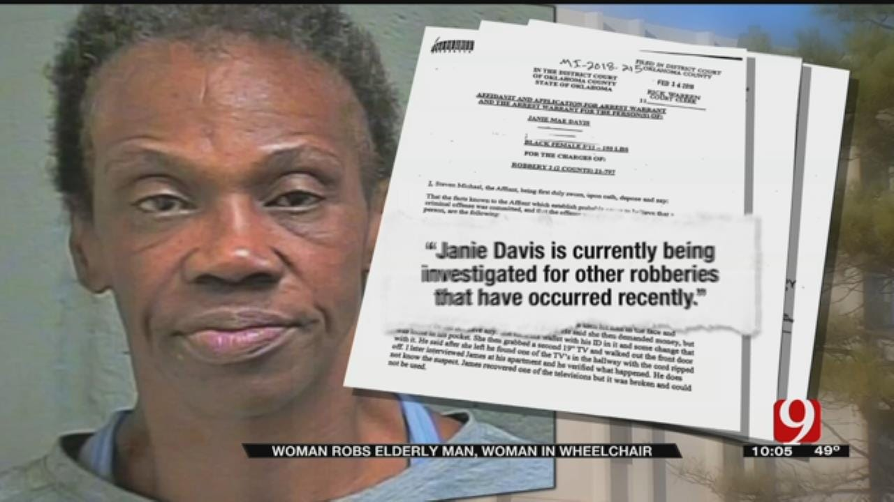OKC Woman Accused Of Robbing Elderly Victims