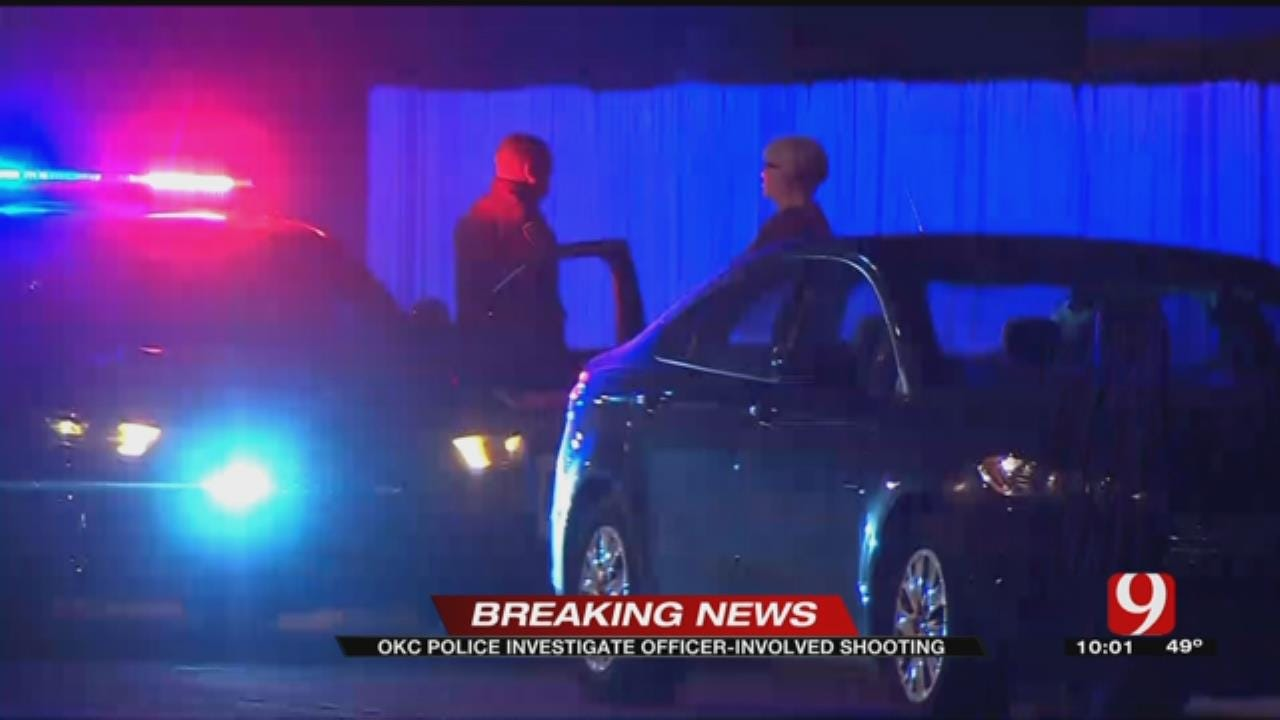 Man Tased, Shot By Officers Following Domestic Call In SW OKC