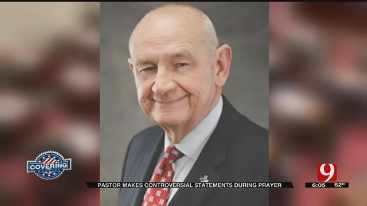 Pastor Preaching To Senate Blames Shootings, Disasters On Gay Marriage