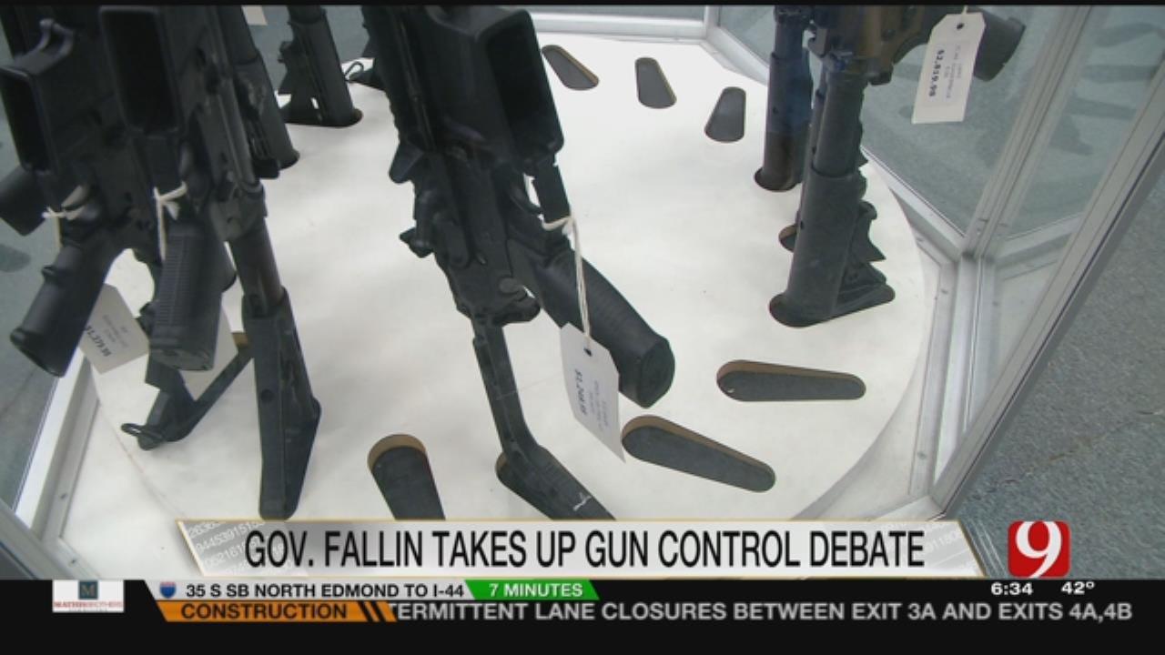 Only On 9: Fallin Weighs In On Gun Control Debate