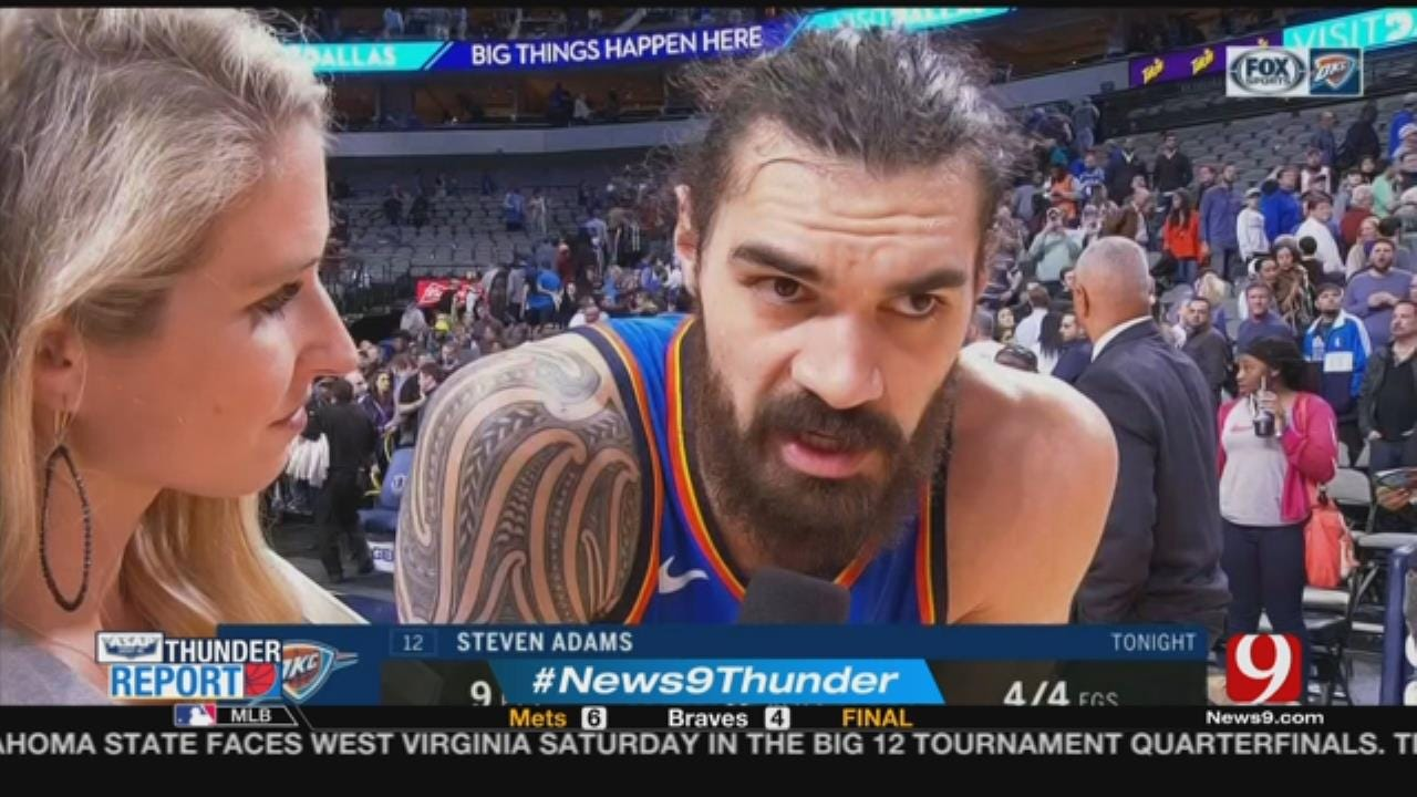 Thunder 111, Mavericks 110, OT