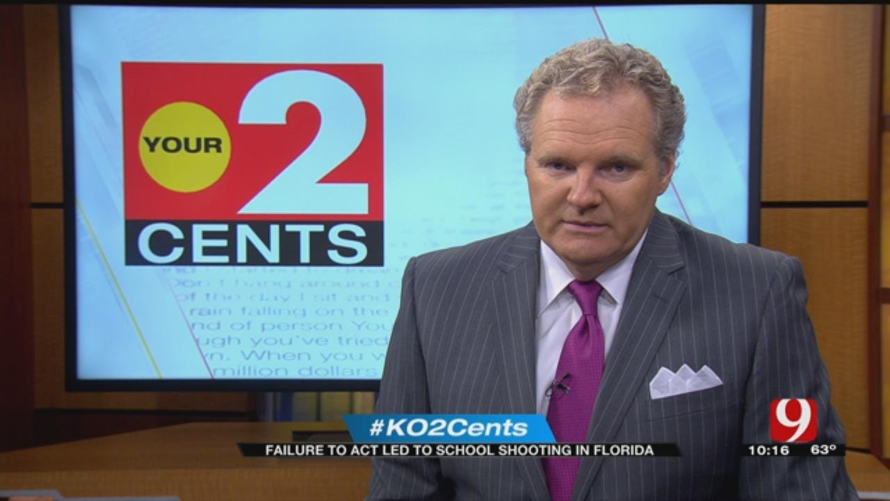 Your 2 Cents: Failure To Act Led To School Shooting In Florida