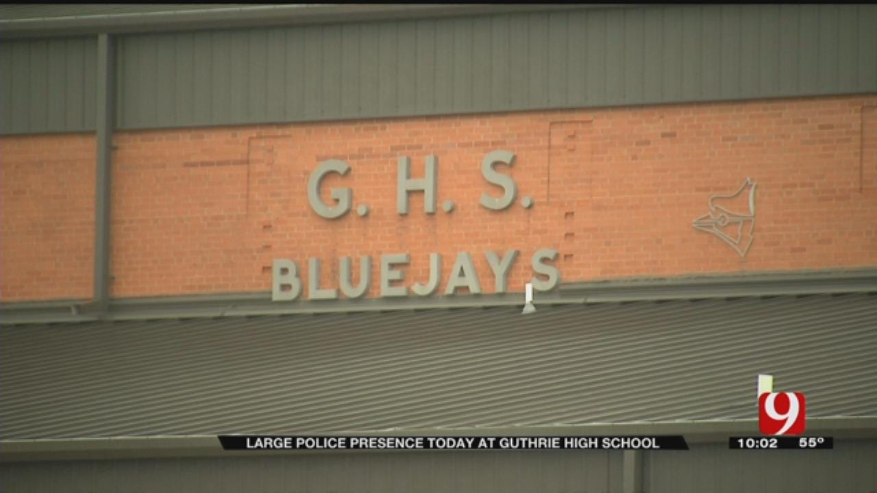 Guthrie Police Find Reported School Threats Not Credible