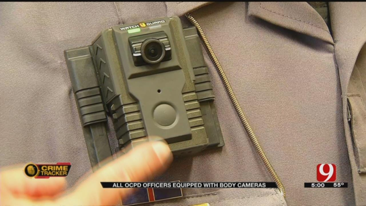 OCPD: All Patrol Officers Now Equipped, Required To Wear Body Cams
