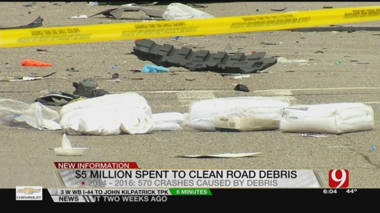 State Spends Millions Cleaning Deadly Road Debris