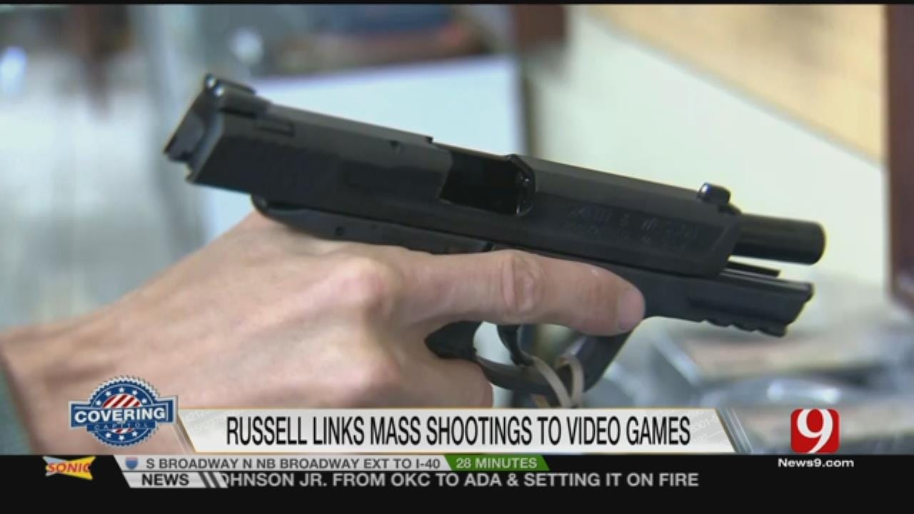 Congressman Blames Video Games, Hollywood For Mass Shootings