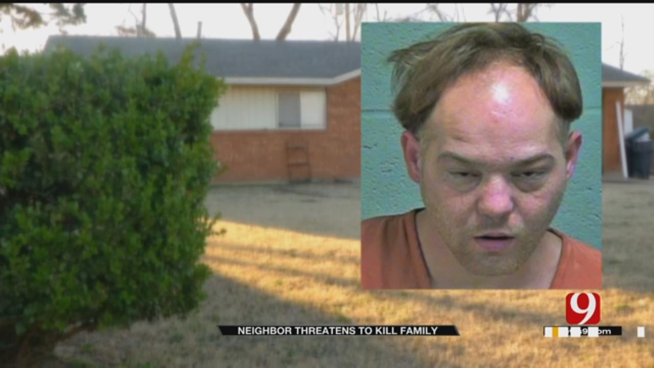 Man Threatens To Kill Neighbors