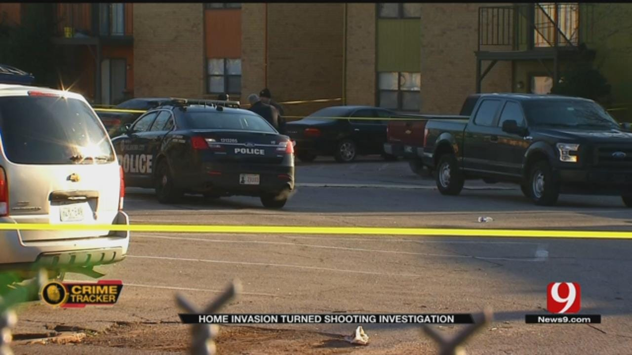 Husband Shot, Wife Sexually Assaulted In NW OKC Home Invasion