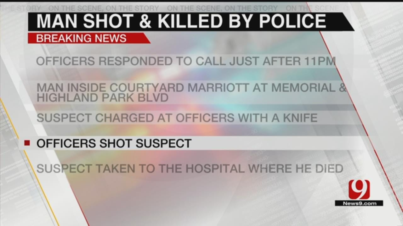 1 Dead After Officer-Involved Shooting In NW OKC