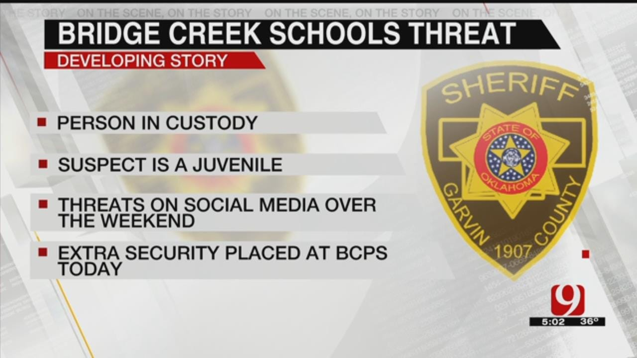 1 Arrested After Threats Made Against A Bridge Creek School