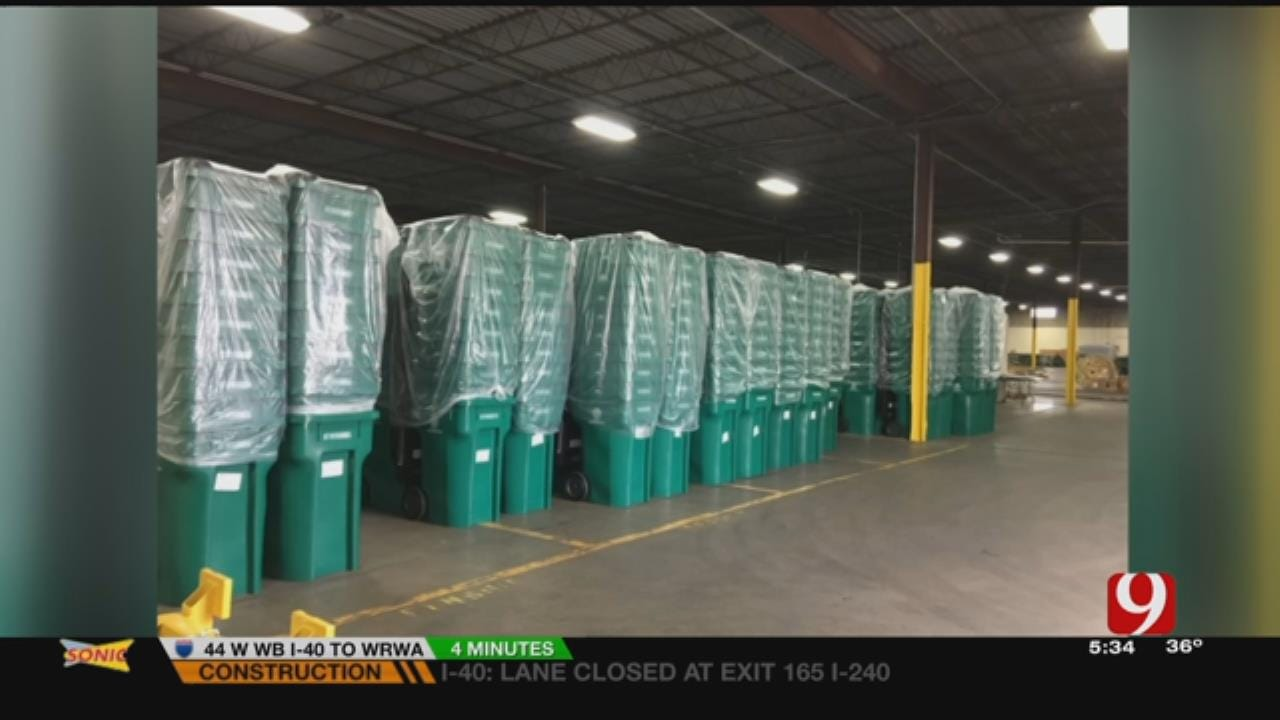 OKC Rolls Out Larger Recycling Carts