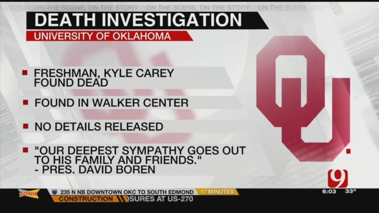 OU Freshman Found Dead In Dorm On Campus