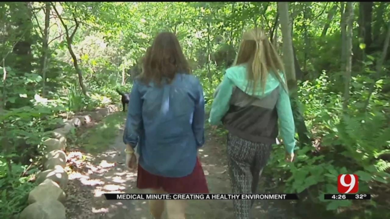 Medical Minute: Healthy Environments