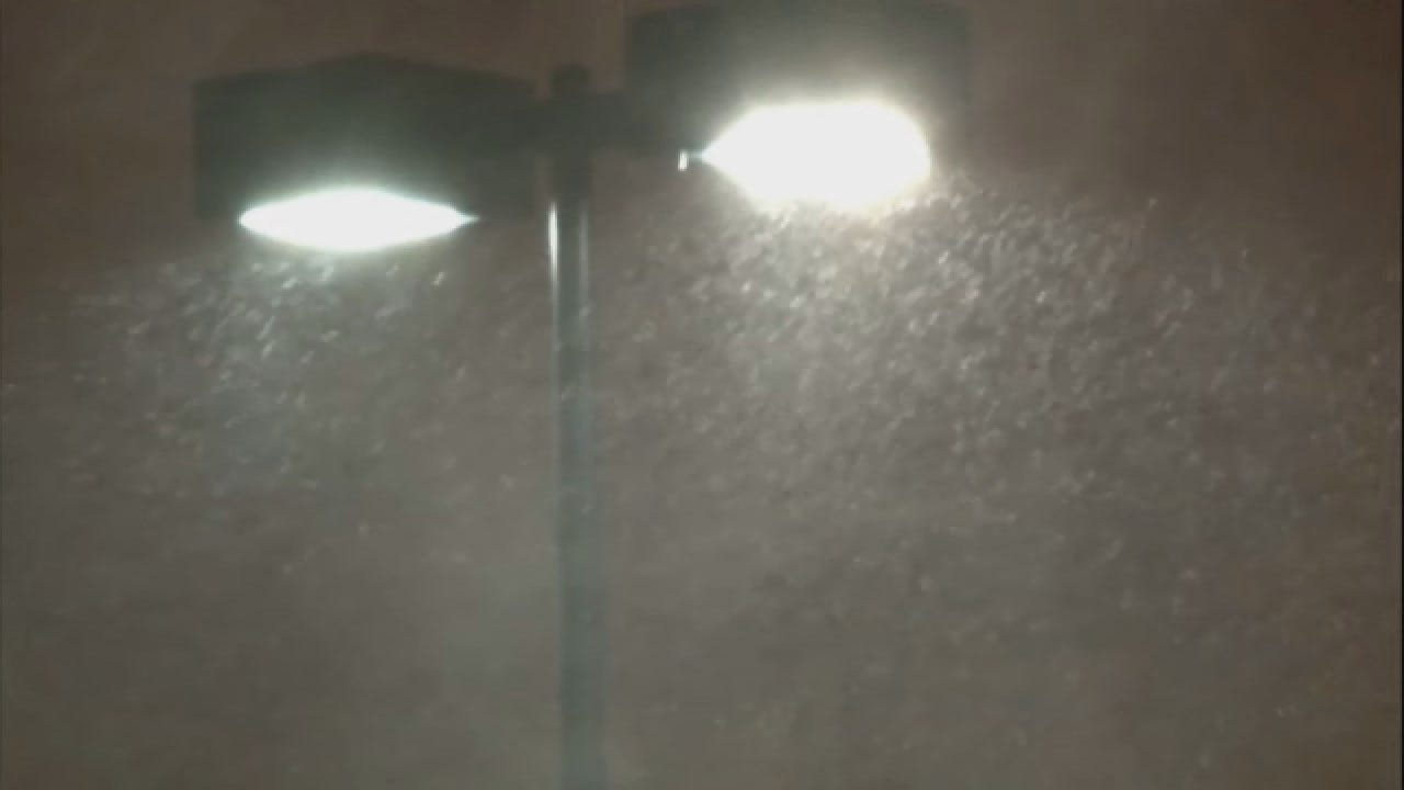 Rare Weather Event: Lake-Effect Snow In Oklahoma City