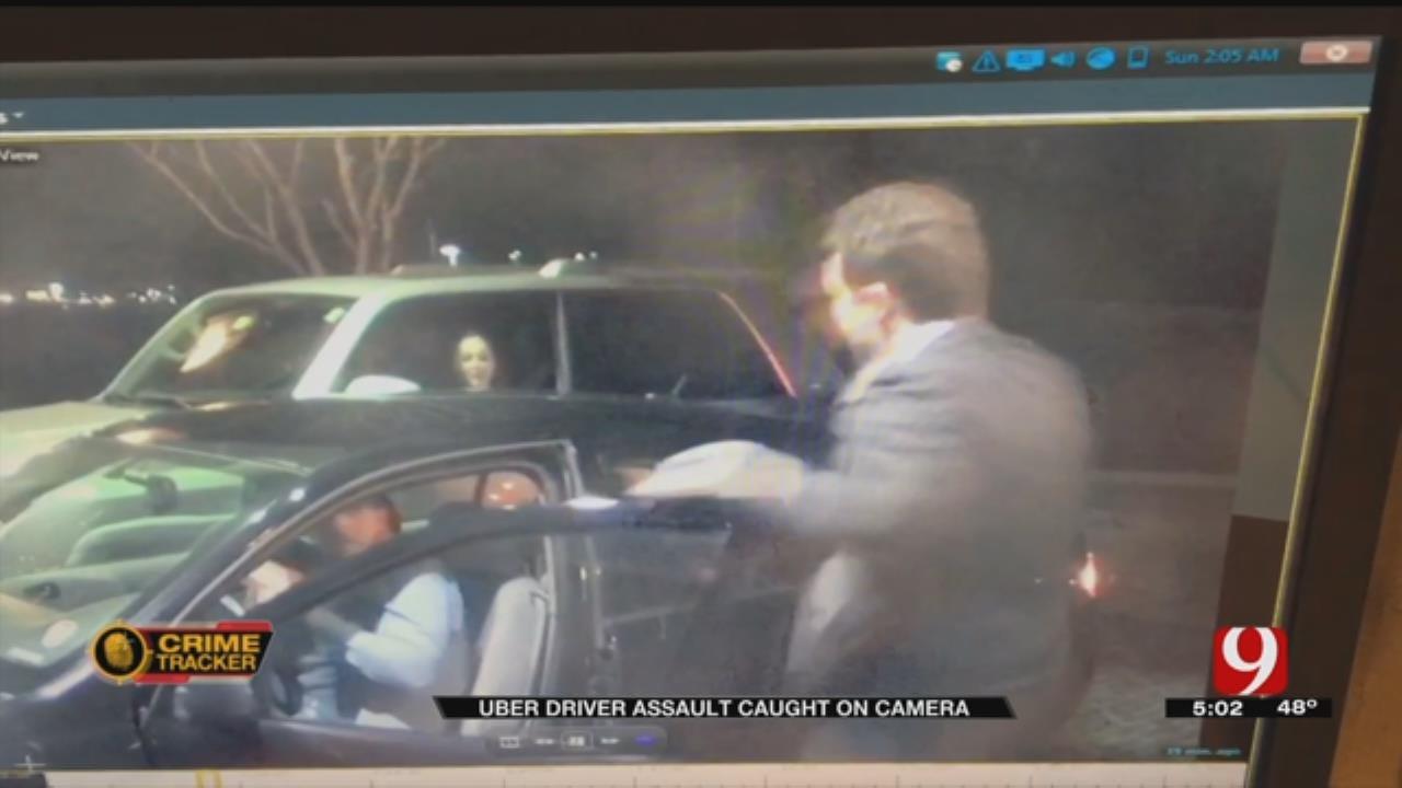 Caught On Camera: Armed Man Assaults Uber Driver, Passengers