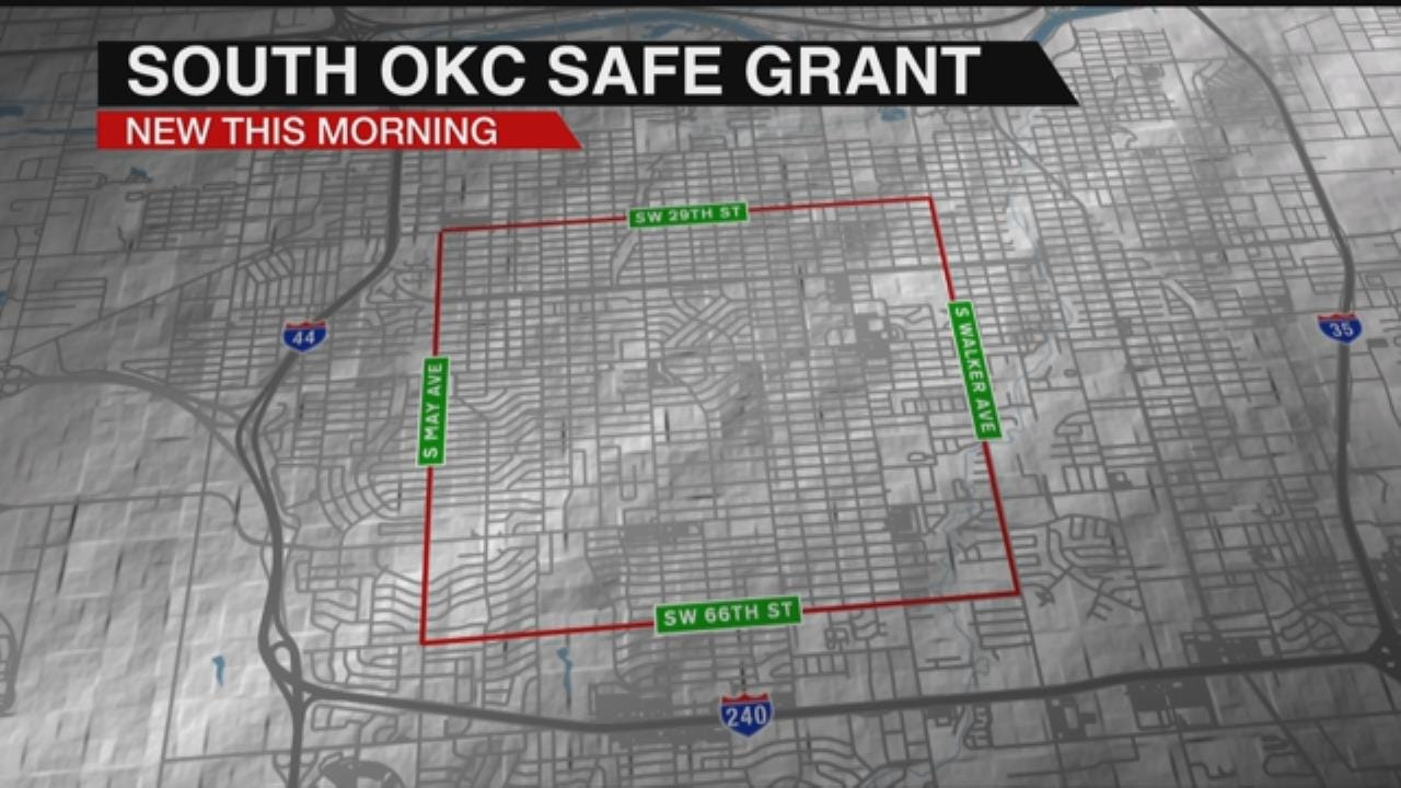 OKC Police To Focus On Crime-Ridden Neighborhood After Grant Funding