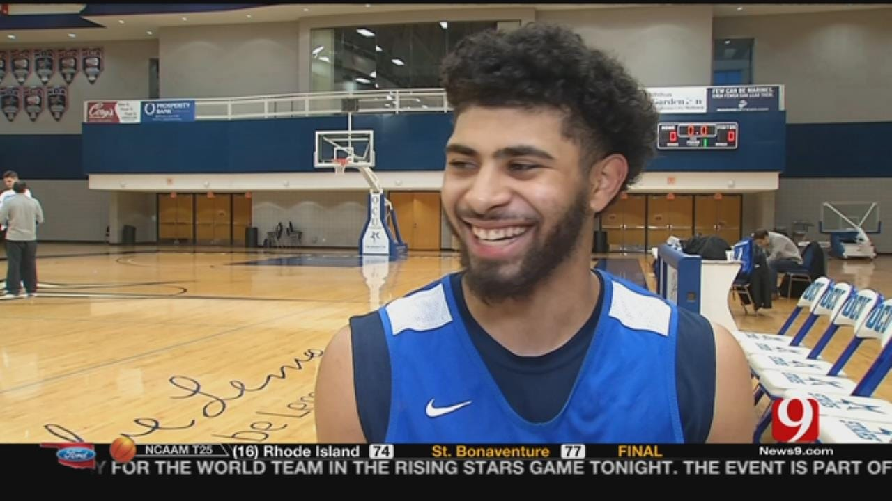 OCU's Shooting Star Has Globetrotter Roots