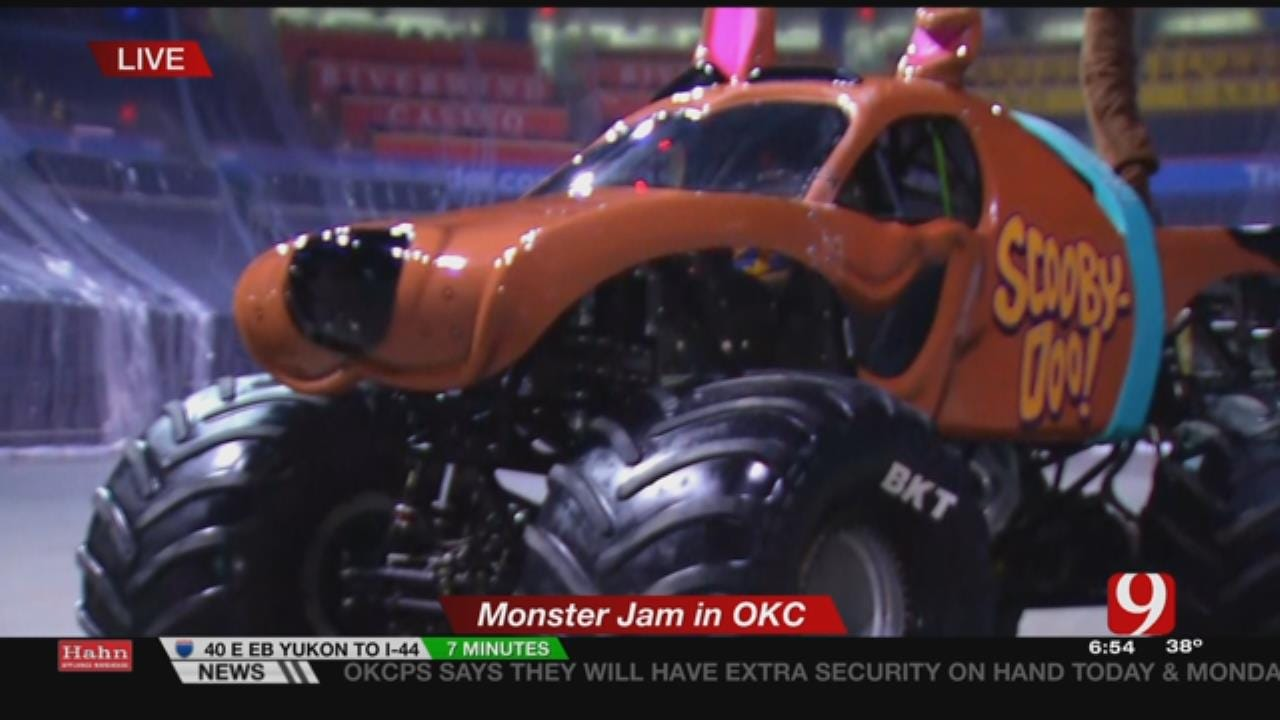 Prepare For Loudness During Monster Jam