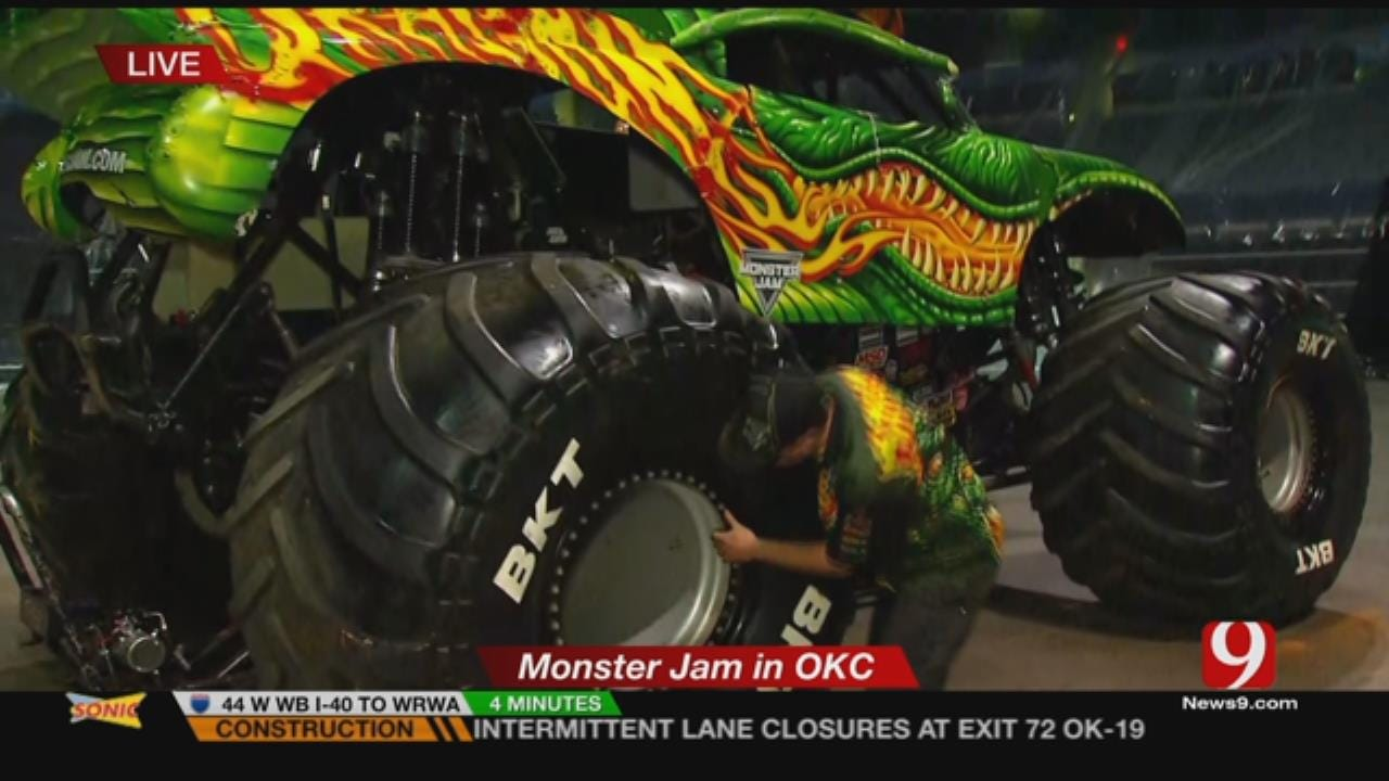 Monster Jam To Perform This Weekend In OKC