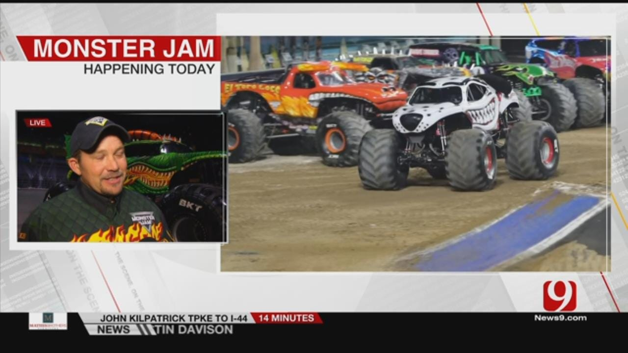 Monster Jam Makes Two-Day Stop In OKC