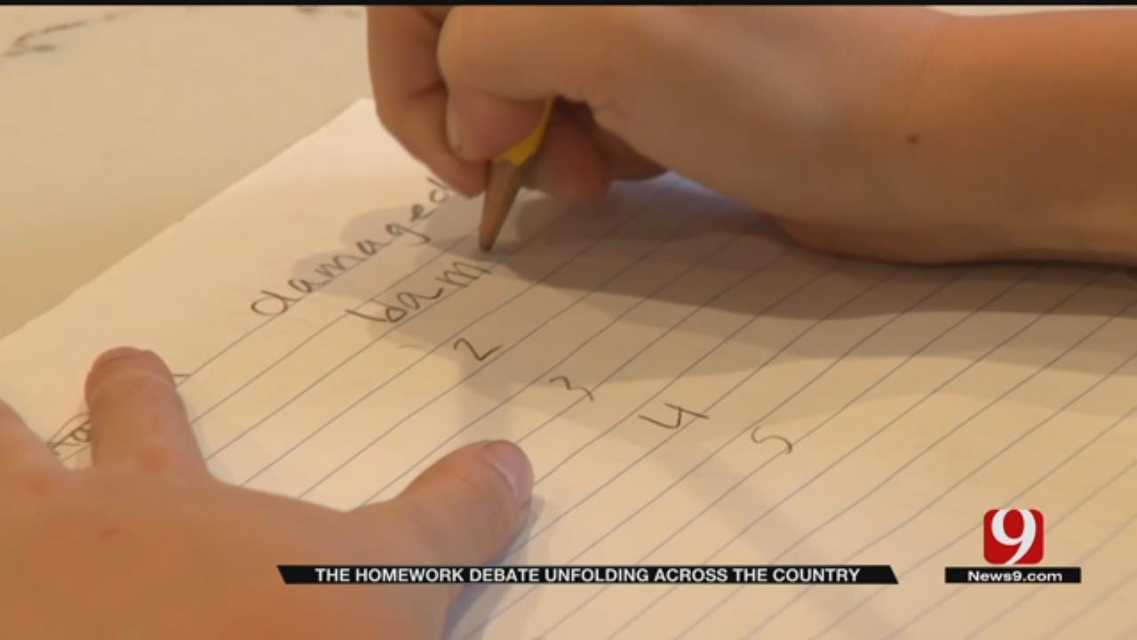 Homework Debate Unfolding Across The Country