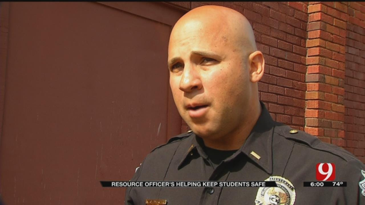 Resource Officers Helping Keep Metro Students Safe