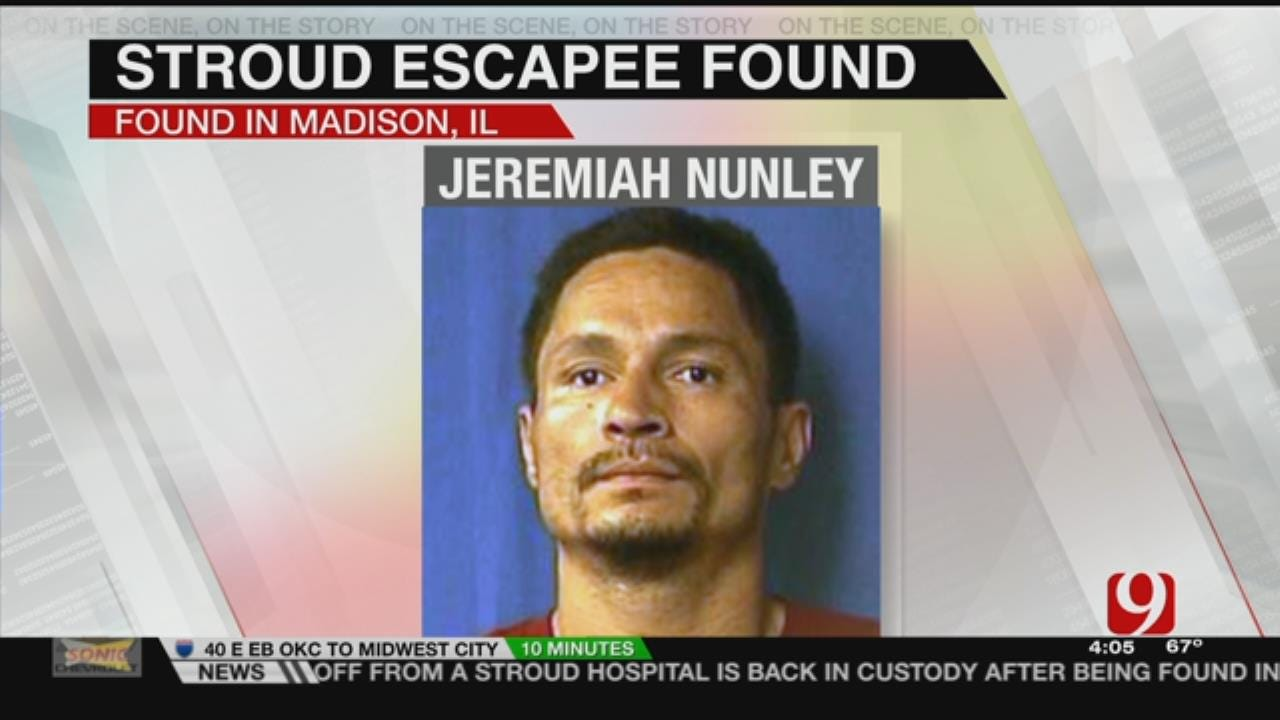 Lincoln Co. Jail Escapee Found In Illinois