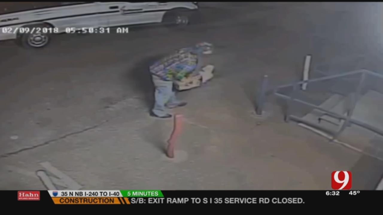 OKC Police Search For 2 Burglars